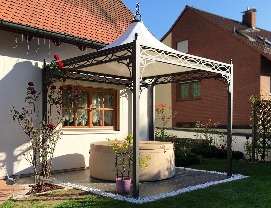 gartenpavillon roma 3x3. Black Bedroom Furniture Sets. Home Design Ideas