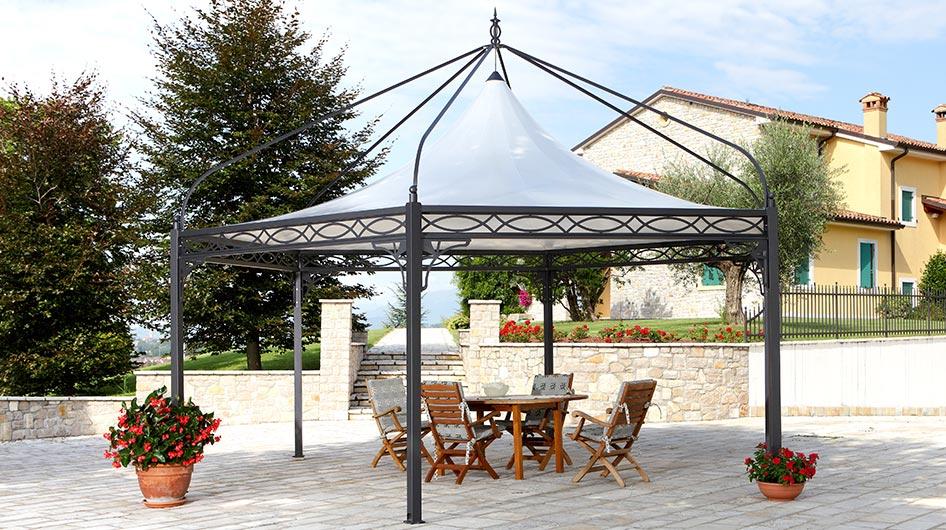 metall pavillon roma 3x3, 4x4 - mein gartenpavillon, Garten und erstellen